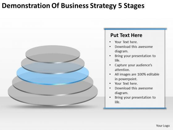 Demonstration Of New Business Strategy 5 Stages Ppt Cost Plan PowerPoint Templates