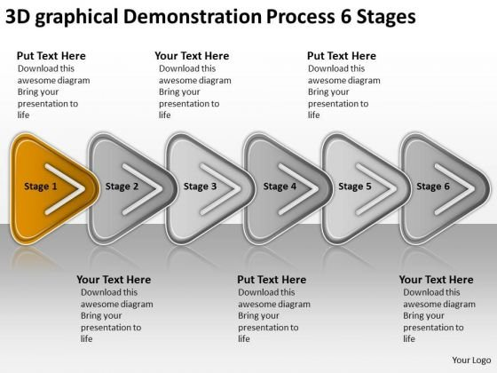 Demonstration Process Stages Download Business Plan Template - Process plan template