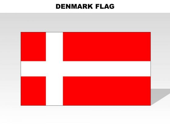 Denmark Country PowerPoint Flags