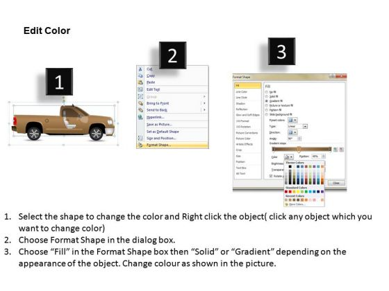 desert_pickup_brown_truck_side_view_powerpoint_slides_and_ppt_diagram_templates_3