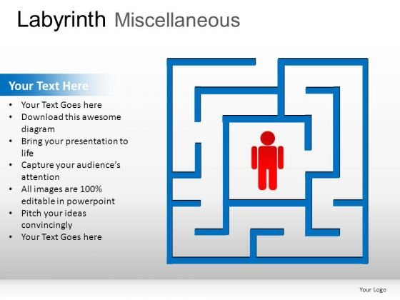 Design Labyrinth Miscellaneous PowerPoint Slides And Ppt Diagram Templates