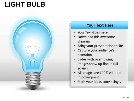 Design Light Bulb PowerPoint Slides And Ppt Diagram Templates