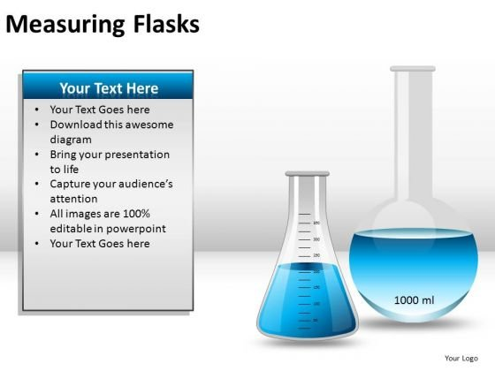 Design Measuring Flasks PowerPoint Slides And Ppt Diagram Templates