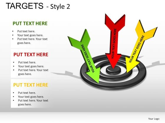 Design Targets 2 PowerPoint Slides And Ppt Diagram Templates
