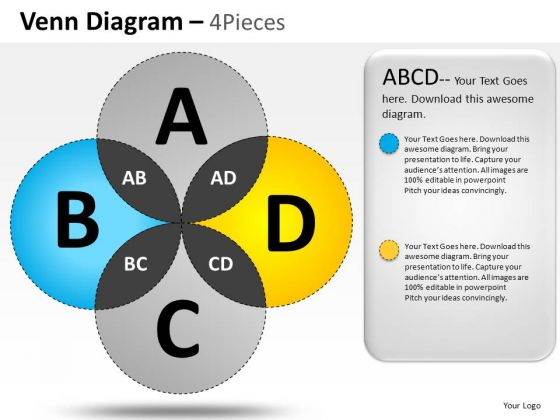 Design Venn Diagram PowerPoint Slides And Ppt Diagram Templates