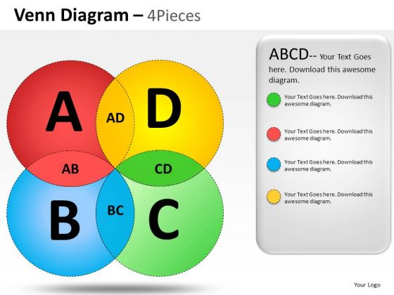 Desirable Venn Diagram PowerPoint Slides And Ppt Diagram Templates