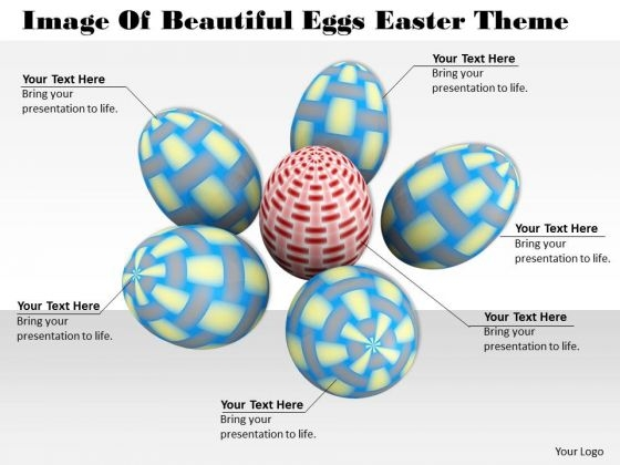 Develop Business Strategy Image Of Beautiful Eggs Easter Theme Stock Photos