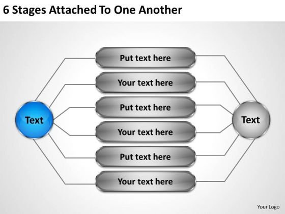 Developing Business Strategy 6 Stages Attached To One Another