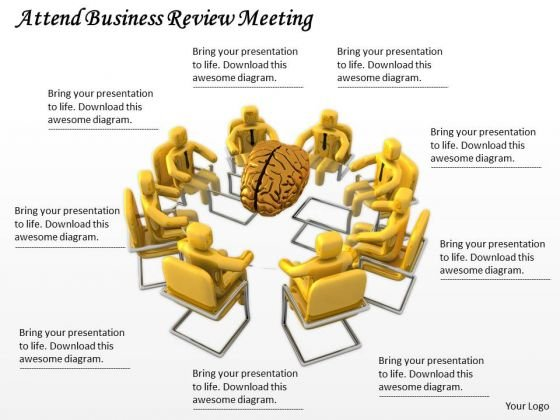 Developing Business Strategy Attend Review Meeting Adaptable Concepts