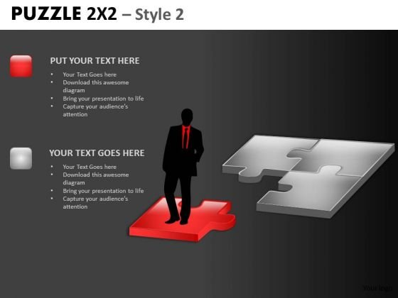 Developing Leadership Puzzle PowerPoint Templates And Editable Ppt Slides