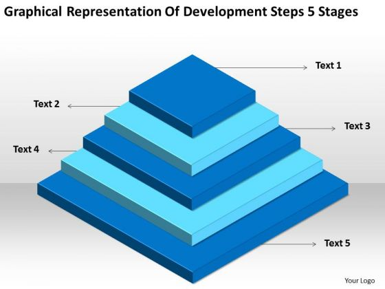 Development Steps 5 Stages Ppt How To Form Business Plan PowerPoint Templates