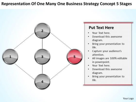 Development Strategy Concept 5 Stages Ppt Examples Of Small Business Plans PowerPoint Templates