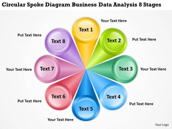 Diagram Business Data Analysis 8 Stages Real Estate Plan Examples PowerPoint Slides