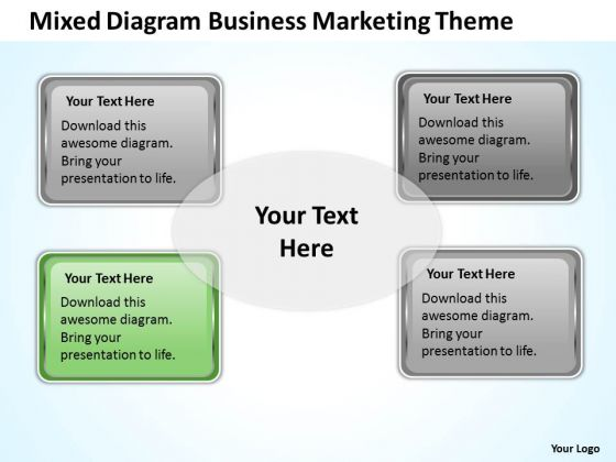 Diagram Business Marketing Theme Ppt Professional Plan Writers PowerPoint Templates