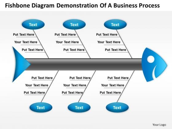 Diagram Demonstration Of Business PowerPoint Theme Process Radial Templates