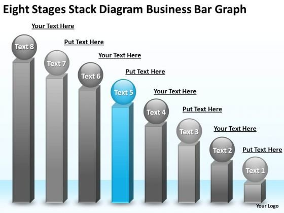 Diagram Free Business PowerPoint Templates Bar Graph Online Plan Slides