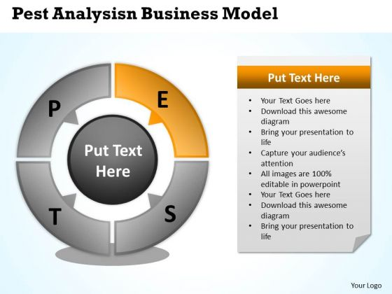 Diagram Of Business Cycle World PowerPoint Templates Model