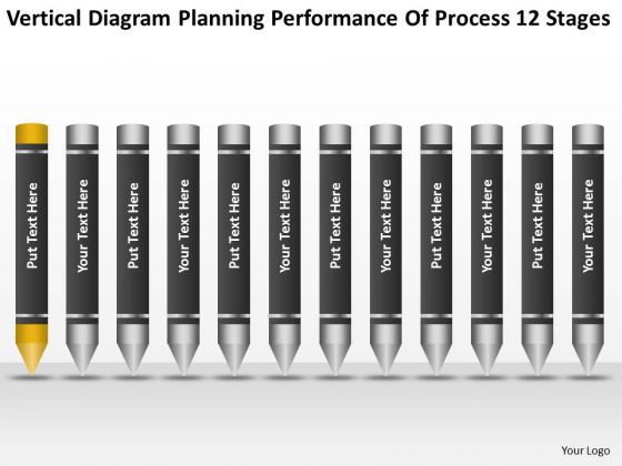 Diagram Planning Performance Of Process 12 Stages Ppt Business Company PowerPoint Slides