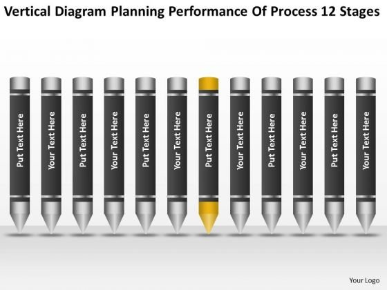 Diagram Planning Performance Of Process 12 Stages Ppt Business Program PowerPoint Slides