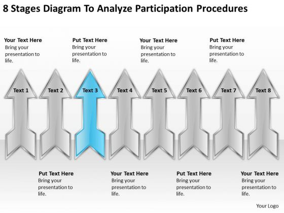 Diagram To Analyze Participation Procedures Examples Business Plan PowerPoint Templates