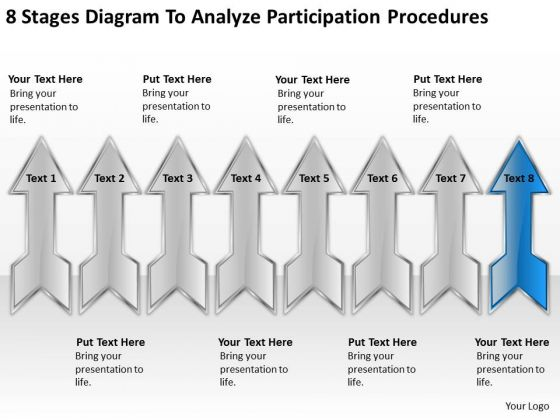 Diagram To Analyze Participation Procedures Ppt Small Business Marketing Plan PowerPoint Slides