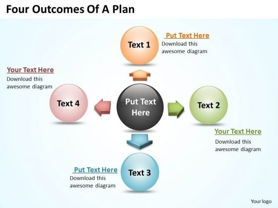 Diagrams Certificate Templates PowerPoint Circular Flow