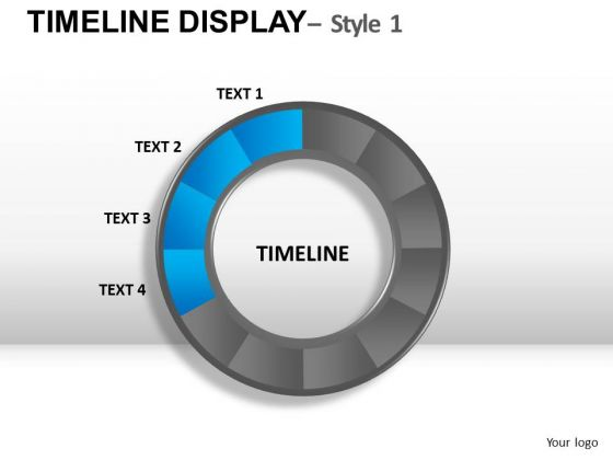 Dial Timeline Display PowerPoint Slides And Ppt Diagram Templates
