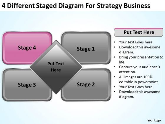 Different Staged Diagram For Strategy Business Ppt Plan Writing PowerPoint Slides