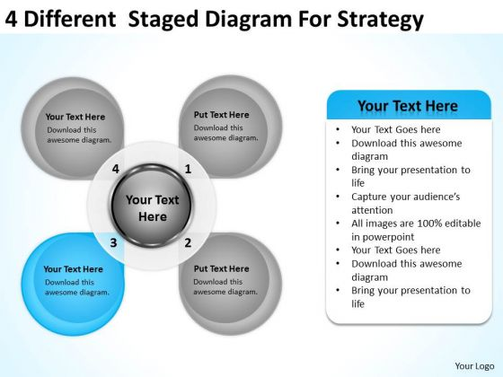 Different Staged Diagram For Strategy Ppt Network Marketing - Mlm business plan template