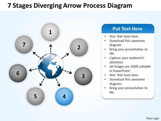 Diverging Arrow Process Diagram Ppt Relative Circular Flow PowerPoint Templates