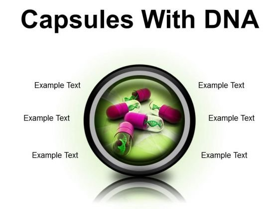 Dna Capsules Medical PowerPoint Presentation Slides Cc