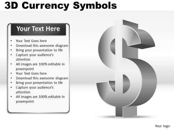 Dollar Symbol PowerPoint Slides And Ppt Clipart Graphics