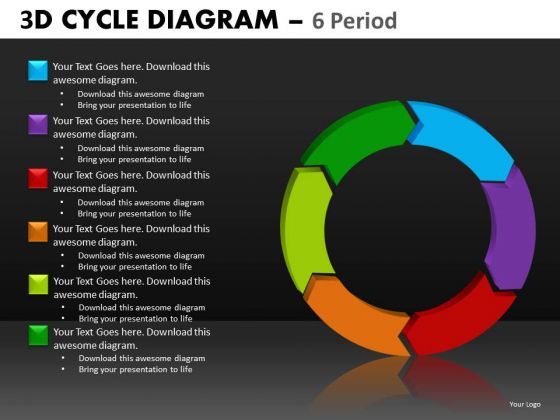 Download 6 Stage Cycle Diagram PowerPoint Slides And Ppt Templates