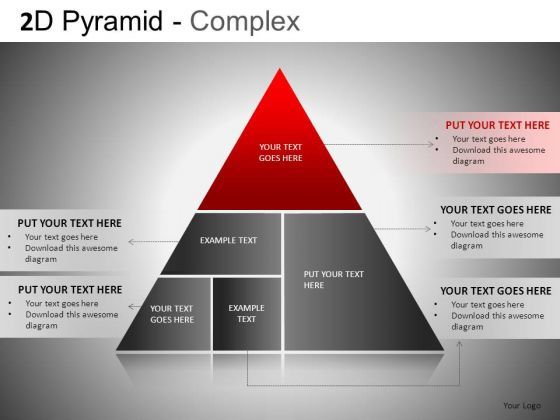 Download 6 Stage Pyramid Diagram For PowerPoint
