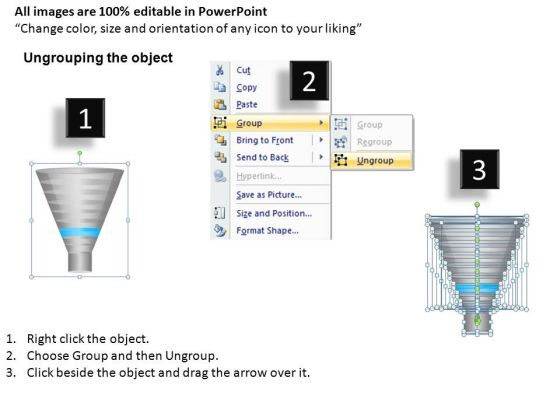 download 9 stages editable sales funnel powerpoint slides and ppt, Modern powerpoint
