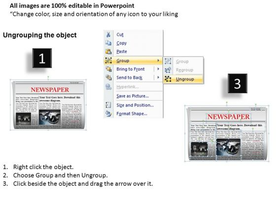 Download And Edit Newspaper Powerpoint Slides And Ppt Templates