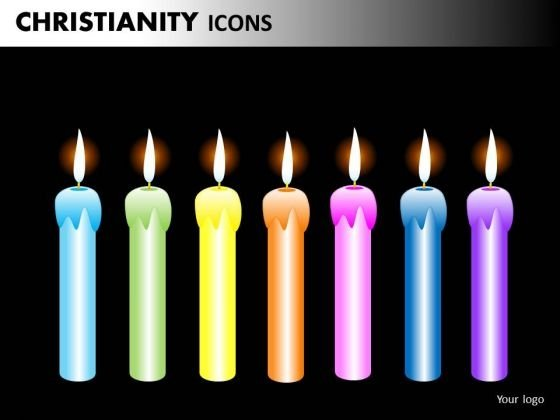 Download Church Birthdays Candles PowerPoint Slides