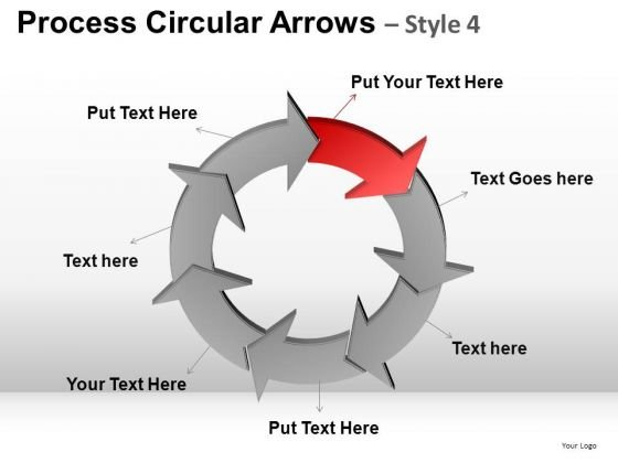 Download Circular Charts Arrows PowerPoint Slides