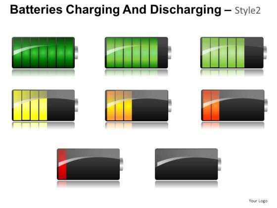 Download Editable 3d Batteries Charging And Discharging PowerPoint Slides And Ppt Diagram Templates