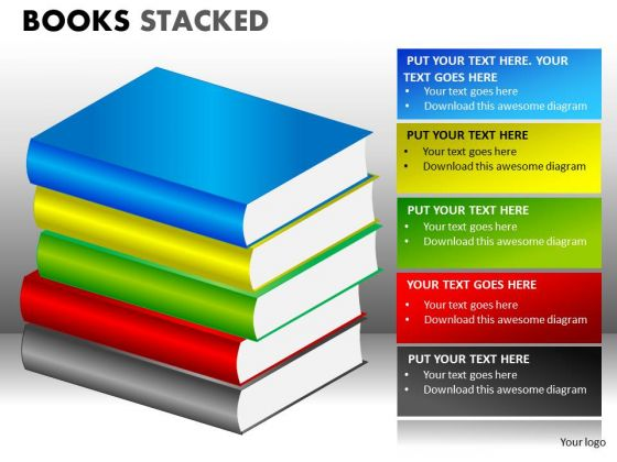 Download Editable Books Clipart PowerPoint Templates - PowerPoint ...