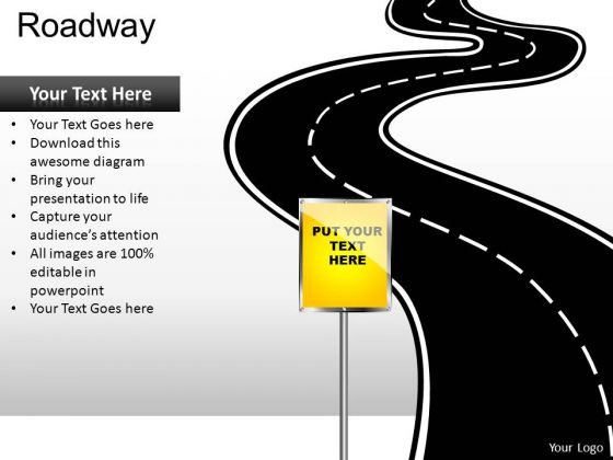 Download Editable Road Map PowerPoint Slides And Road Map PowerPoint Templates
