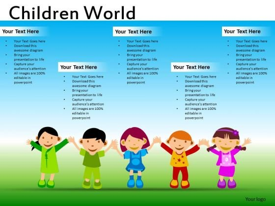 Download Education Kids PowerPoint Ppt Templates