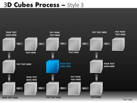 Download Flow Process Diagrams For PowerPoint