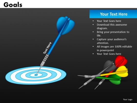 Download Goals Achieved Targets PowerPoint Templates Ppt Slides