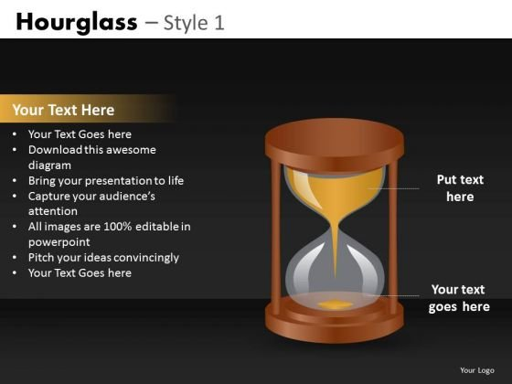 Download Hourglass Time PowerPoint Templates
