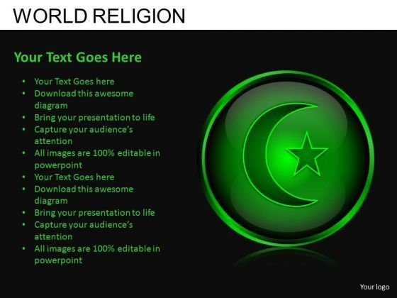 Download Islam Religion PowerPoint Slides And Ppt Diagram Templates