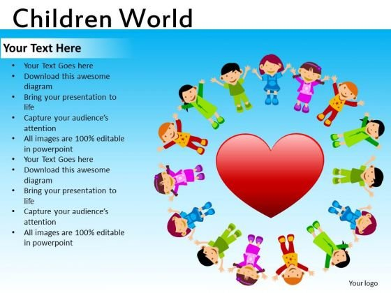 Download Love Children PowerPoint Ppt Templates