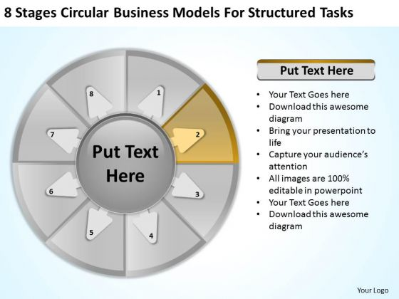 Download Models For Structured Tasks Business Plans PowerPoint Slides