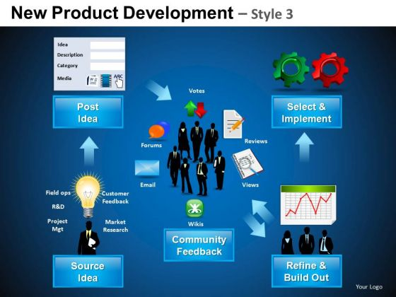 Download New Product Development 3 PowerPoint Slides And Ppt Diagram Templates