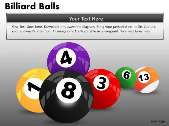 Download Pool Balls Sports PowerPoint Ppt Templates